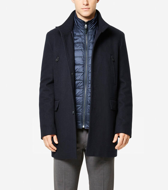 Accessories & Outerwear > Melton 3-in-1 Topper Jacket