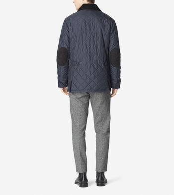Quilted Nylon Barn Jacket