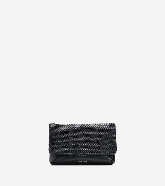Handbags > Bethany Weave Clutch