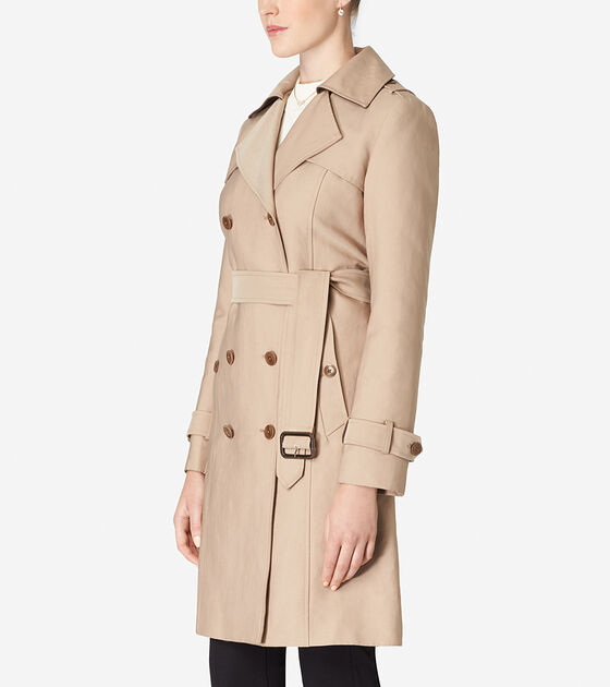 Tali Lined Trench Coat