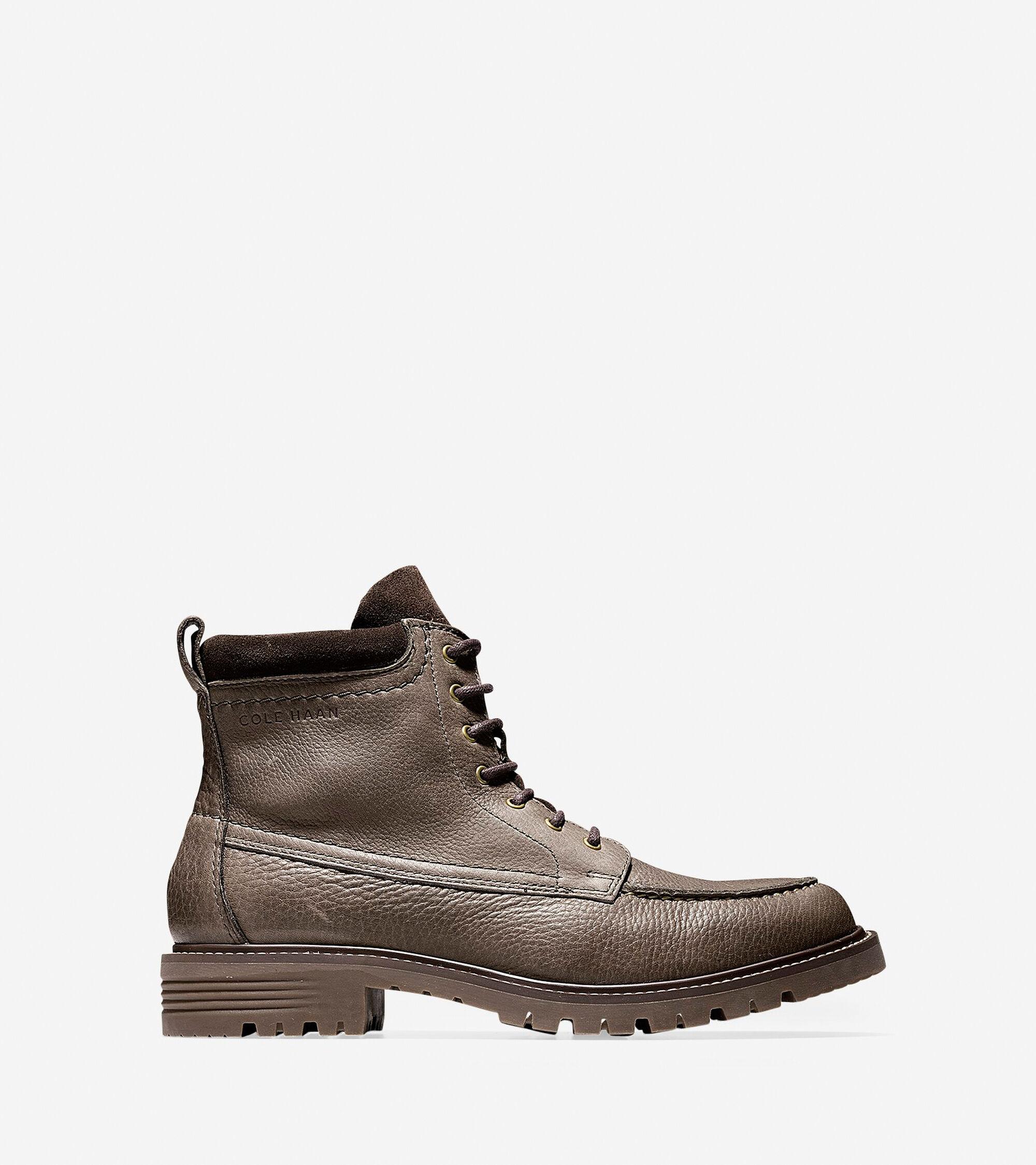 Boots > Keaton Waterproof Moc Toe Lace Boot