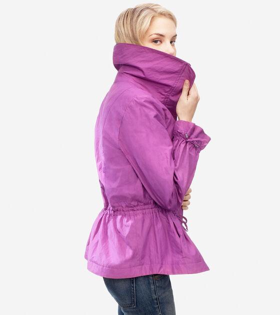 Metallic Rain Jacket
