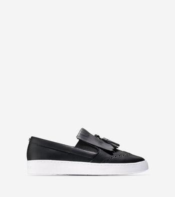 Reiley Tassel Slip On Sneaker