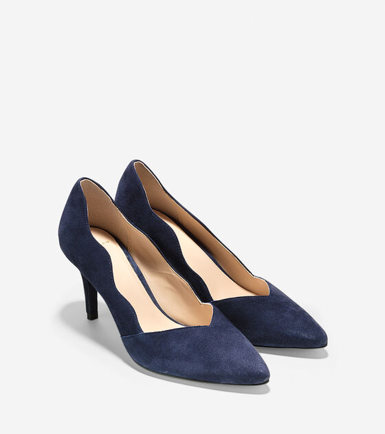 Lucille Pump (75mm) - Pointy Toe