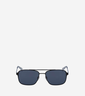 Flat Metal Navigator Sunglasses