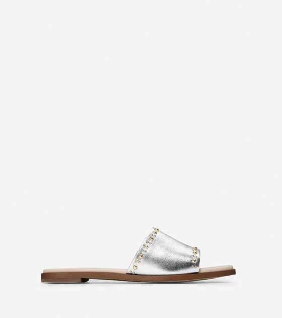 Sandals > Anica Stud Slide Sandal