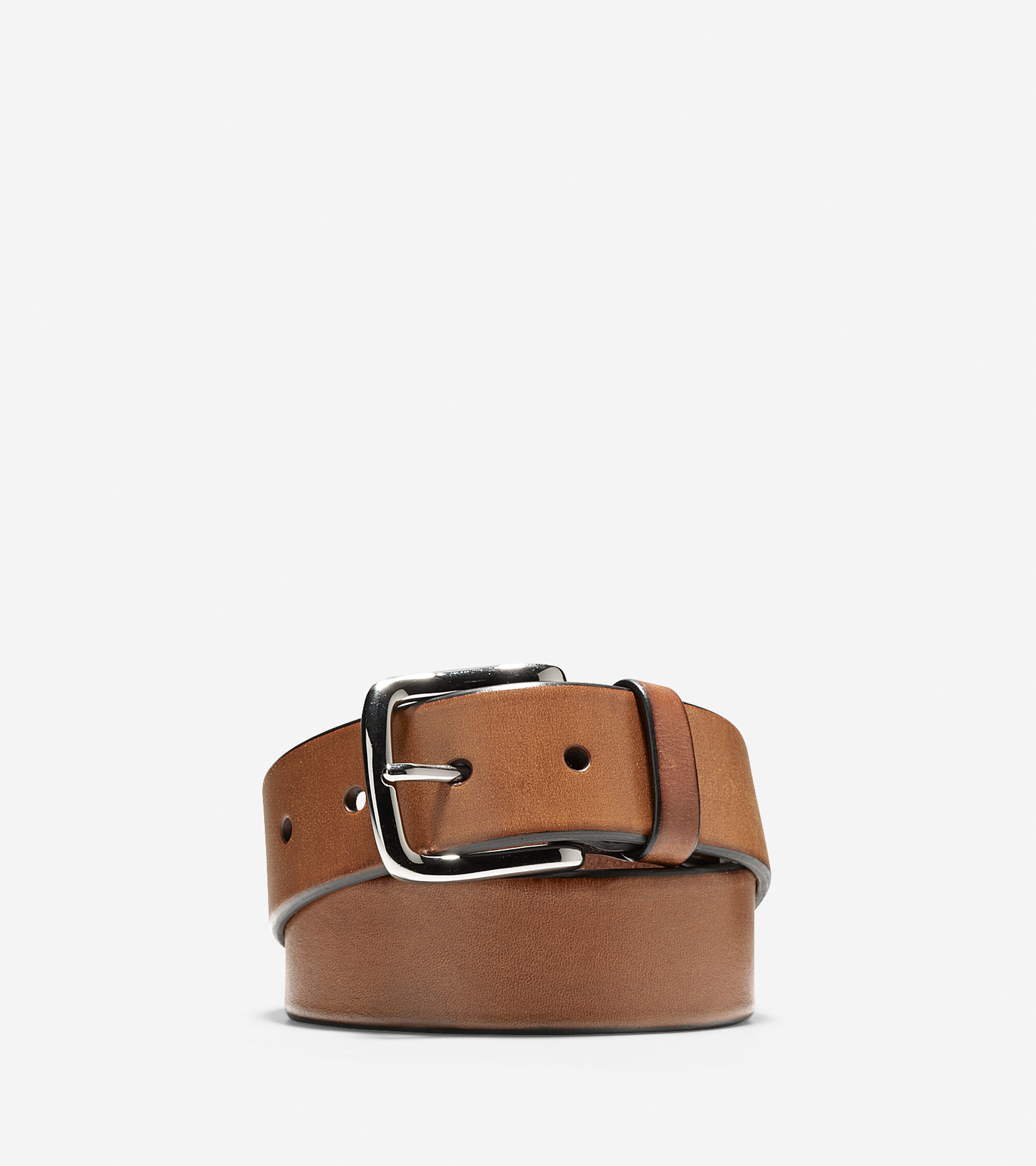 Accessories > 35mm Smooth Leather Belt