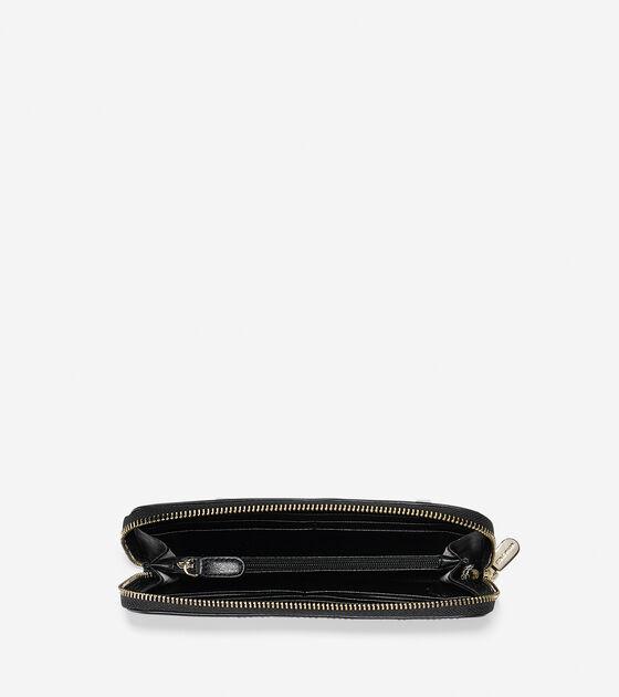 Copley Large Zip Continental Wallet