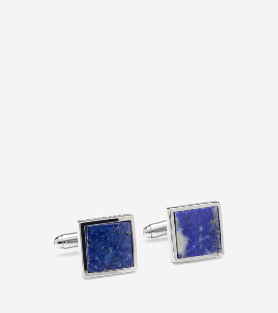 Accessories > Semi-Precious Inlay Cuff Links