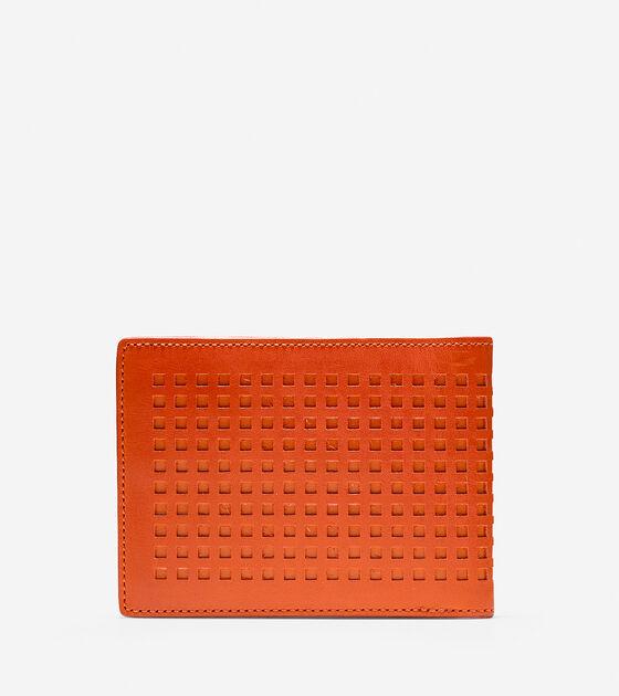 Perforated Slim Billfold Wallet