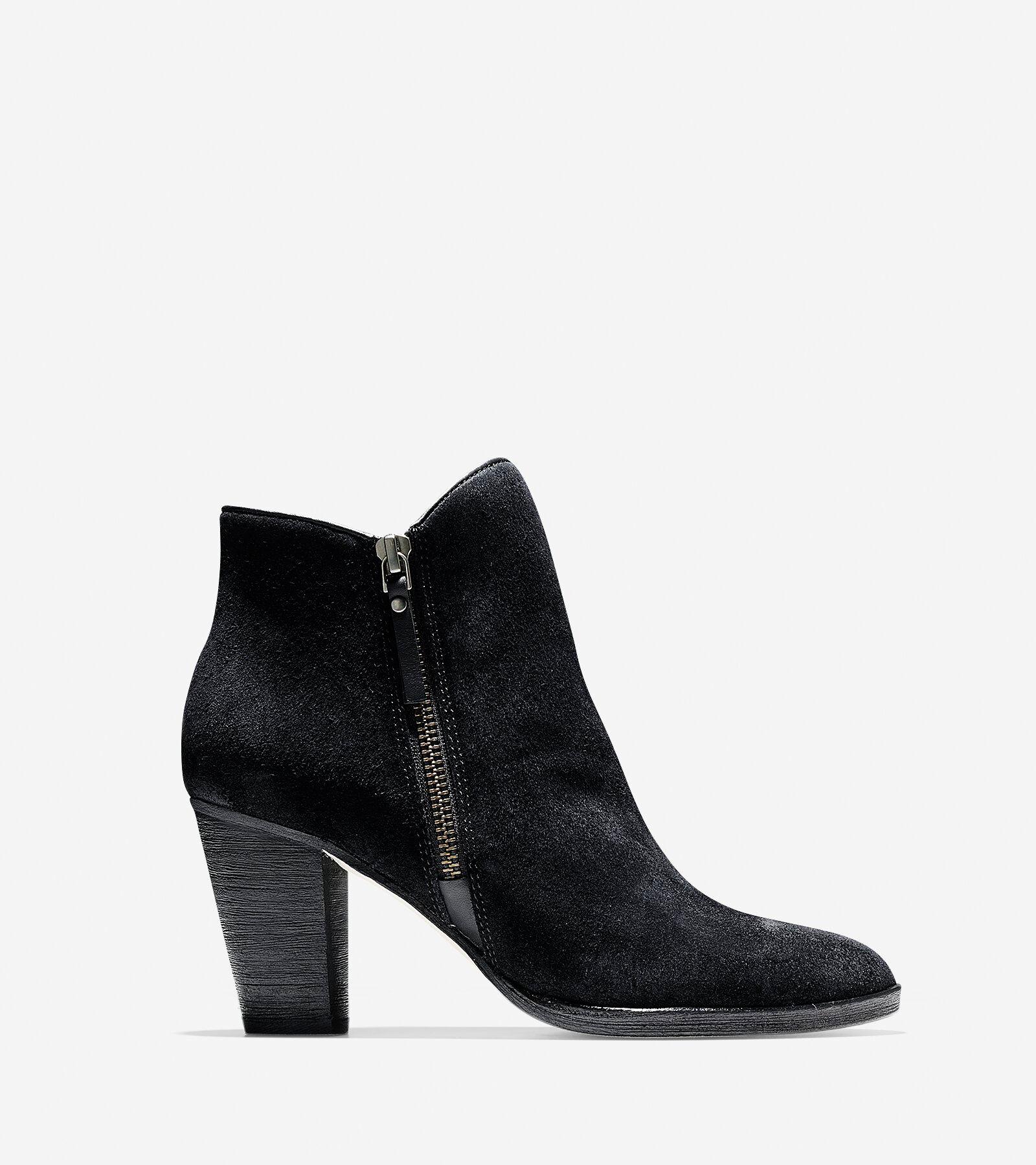 Ladies Kitten Heel Boots