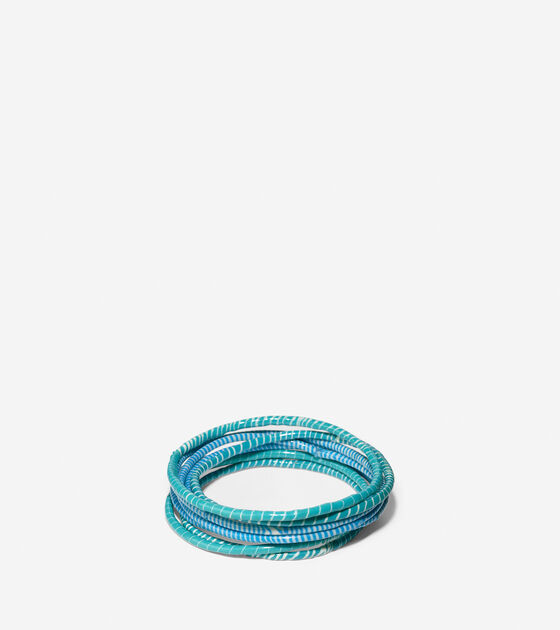 Accessories > doublehighfive bk - Recycled Flip Flop Bracelets
