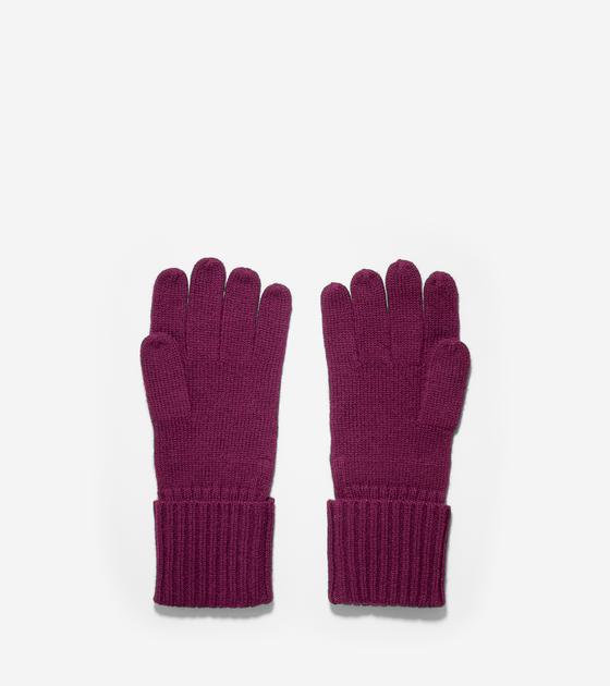 Diagonal Rib Gloves