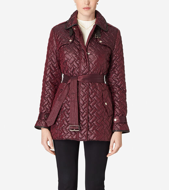 quilt haan quilted shop x cole belted gp coats amazon s at d women large aw jacket cashew