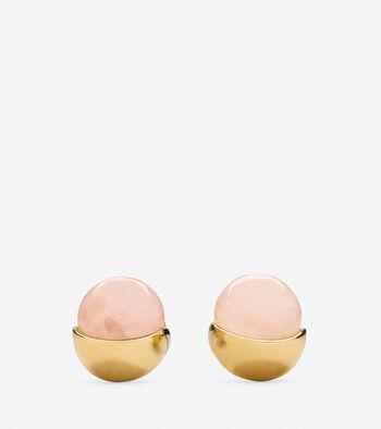 Semi-Precious Stud Earring
