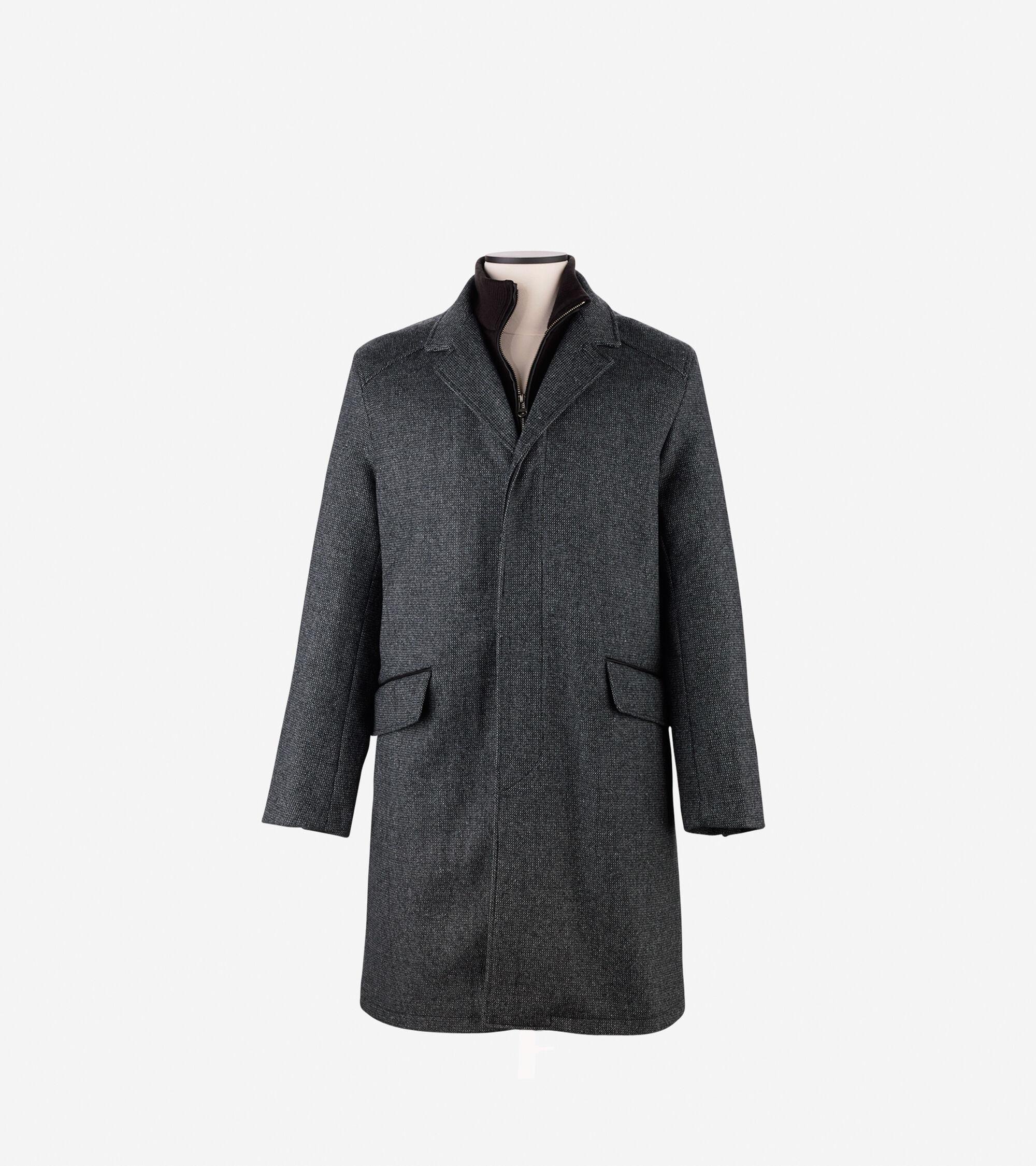 Outerwear > Wool Twill Topper