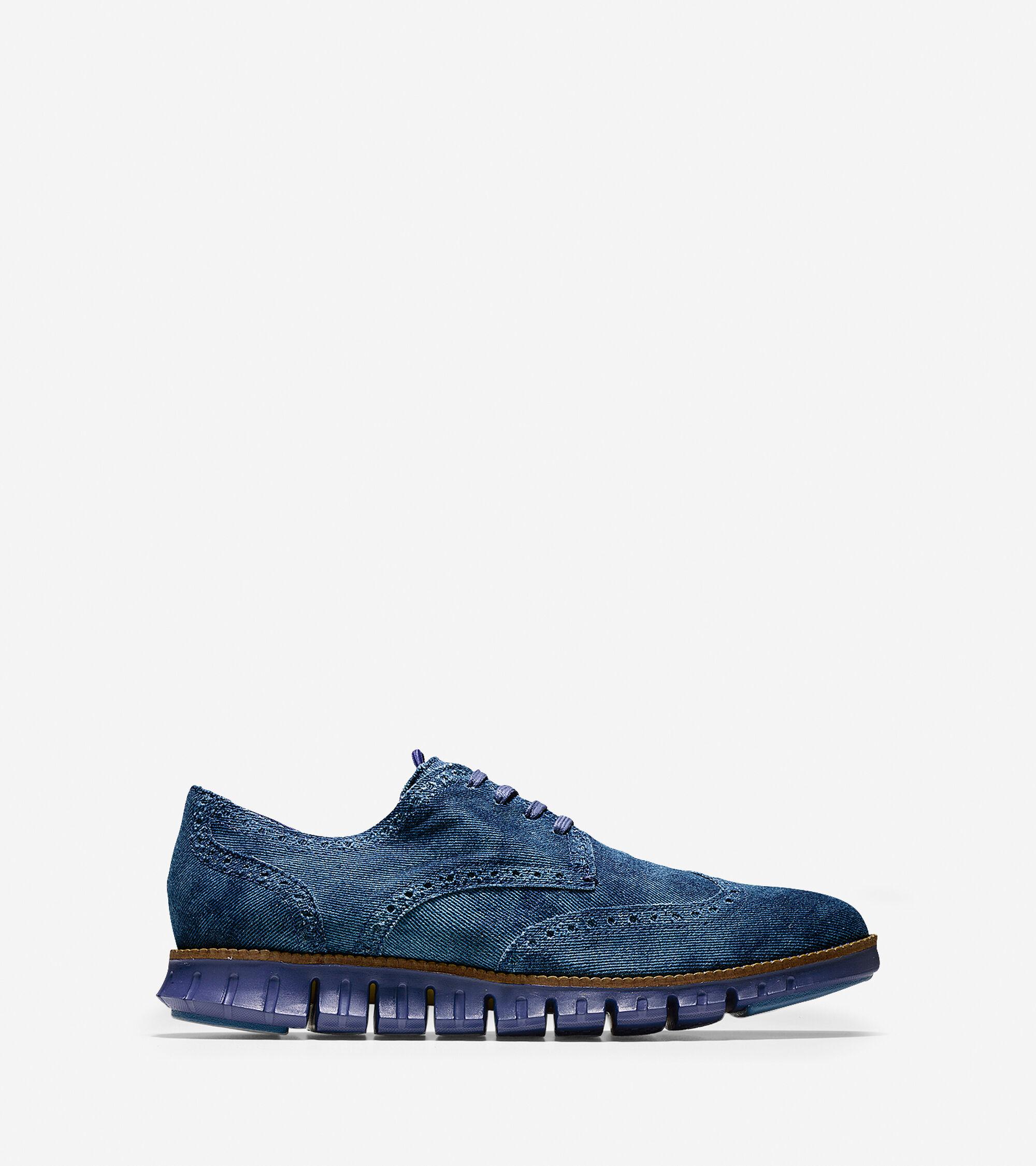 Shoes > ZERØGRAND Deconstructed Wingtip