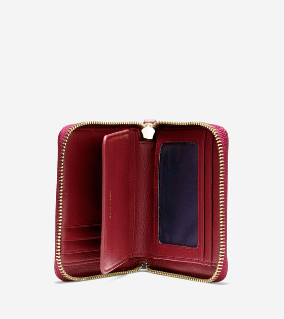 Camlin Logo Small Zip Wallet