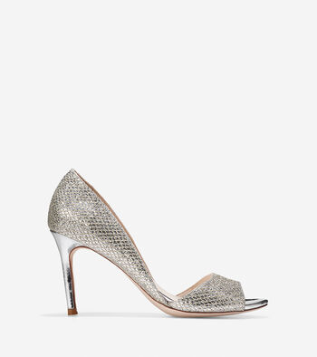 Antonia Open Toe Pump (85mm)