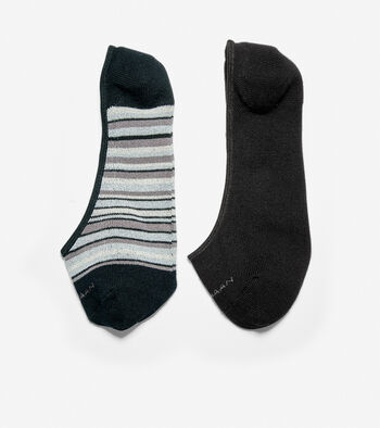 Town Stripe Sock Liner – 2 Pack