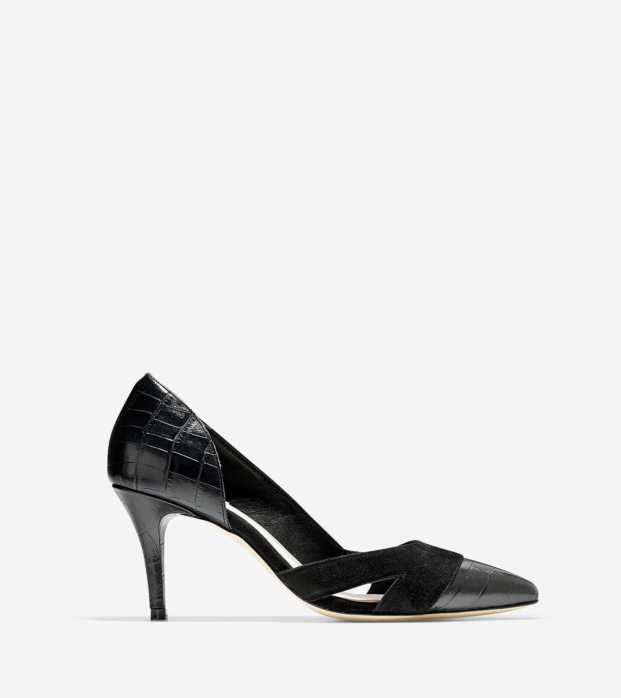 Shoes > Highline Cut Out Pump (75mm) - Pointy Toe