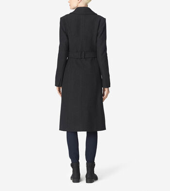 Double Breasted Maxi Coat