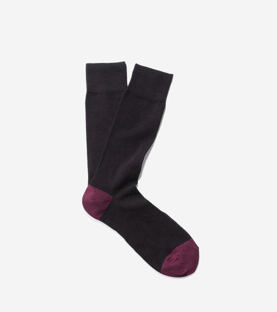 Heel/Toe Knit Socks