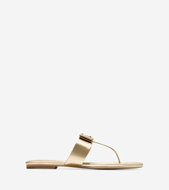 Shoes > Tali Bow Flat Sandal