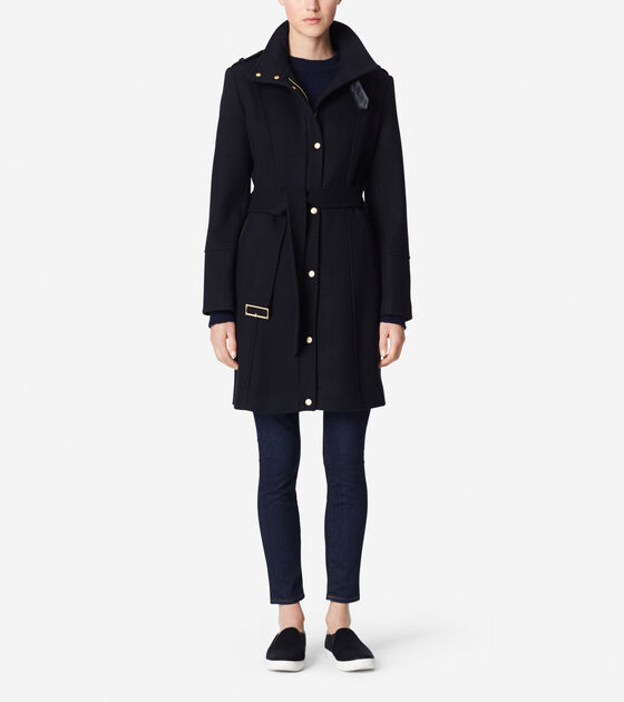Outerwear > New Wool Twill Coat