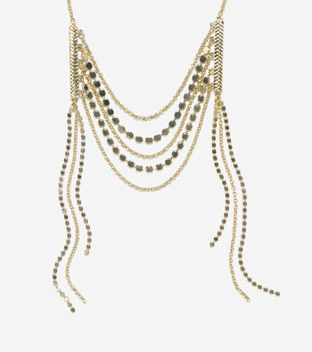 Metropolitan Club Frontal Necklace