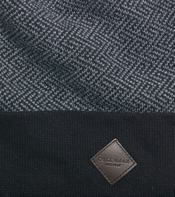 Fine Pattern Jacquard Knit Cuff Hat