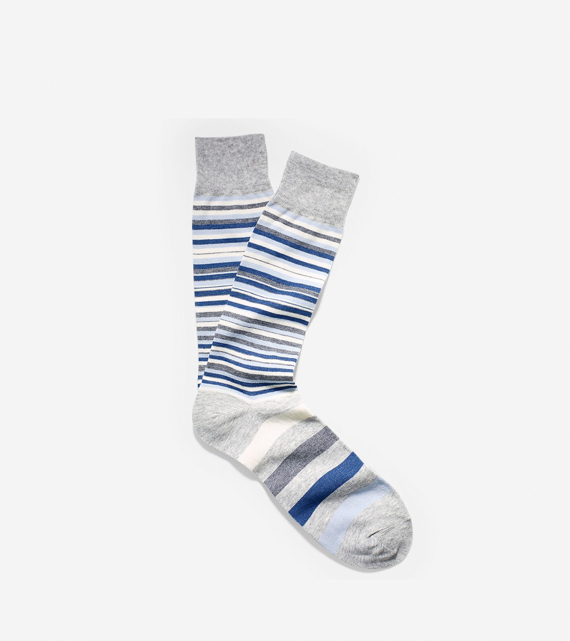 Accessories > Town Striped Crew Socks