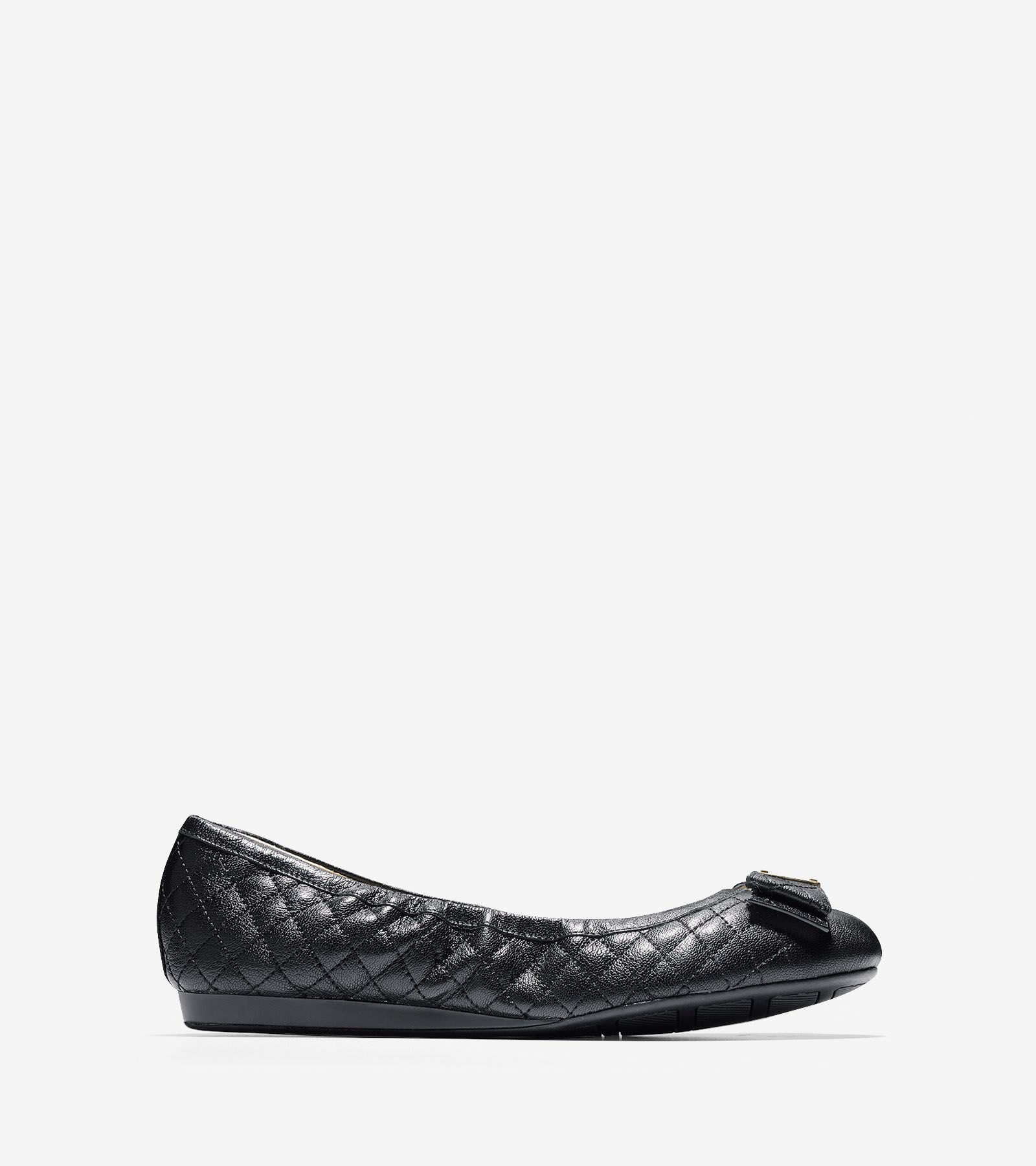 Ballet Flats > Tali Bow Quilted Ballet Flat