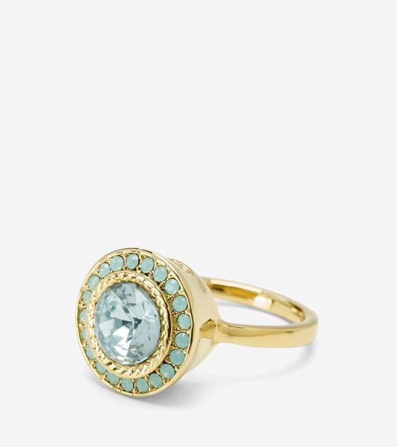 Accessories > Halo Swarovski Ring