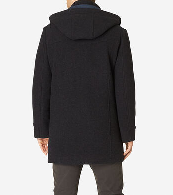Boiled Wool Toggle Duffle Coat