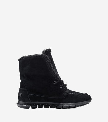 ZERØGRAND Shearling Waterproof Chukka