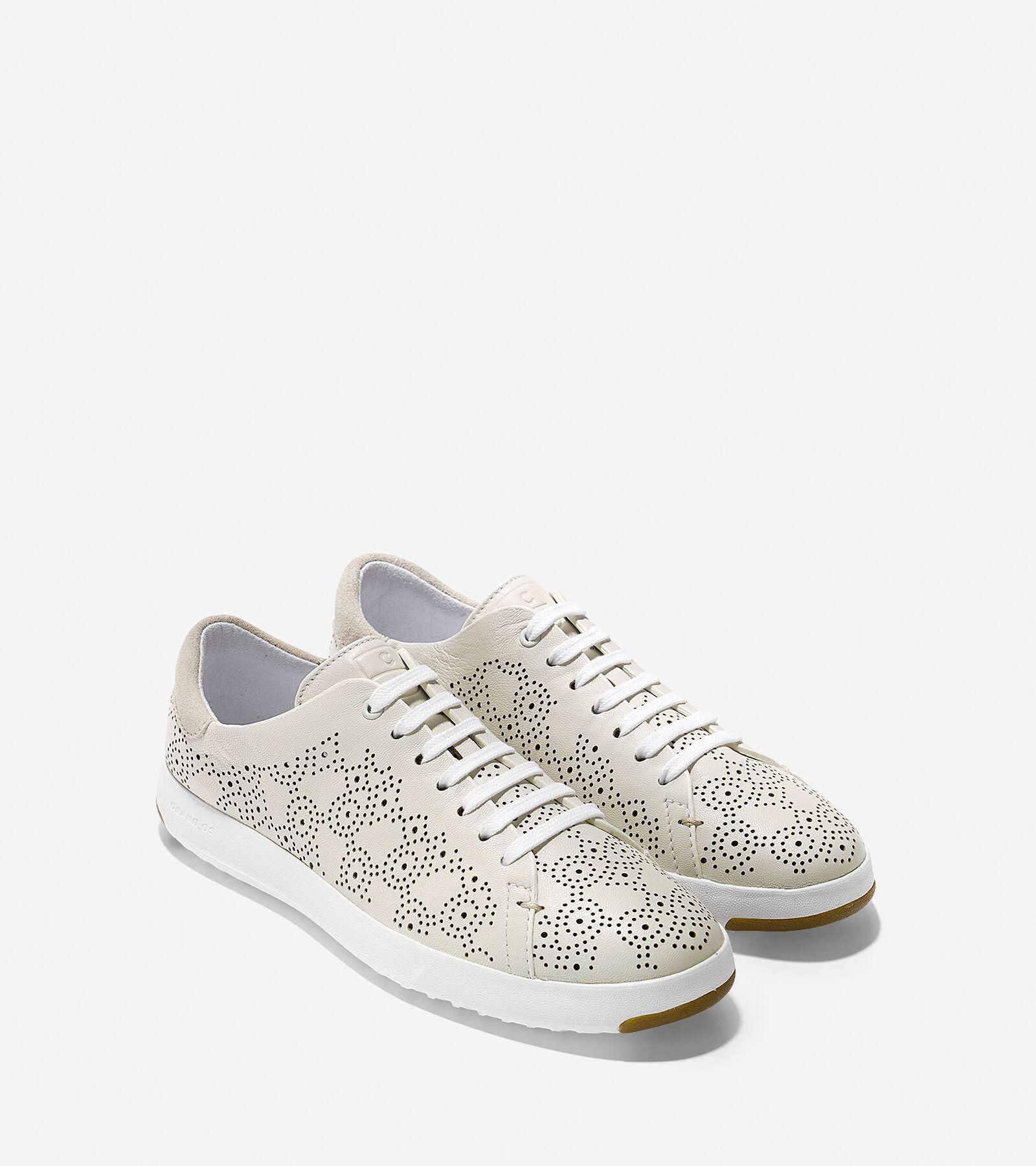 Sneaker En Cuir Perforé Cole Haan Vente De Haute Qualité 3LpJMCw