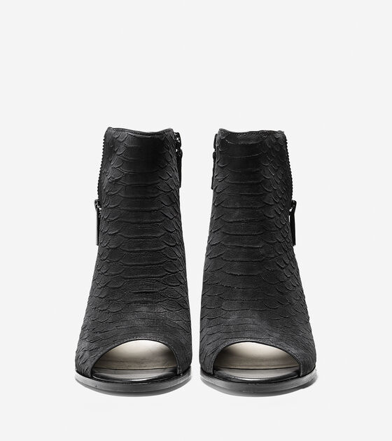 Lundy Open Toe Bootie (75mm)