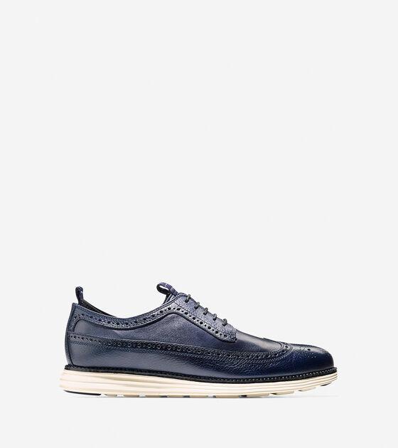 Shoes > ØriginalGrand Fleece Lined Long Wingtip Oxford