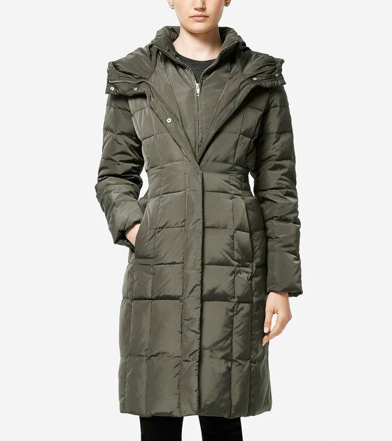 Outerwear > Signature 40-inch Taffeta Down Coat