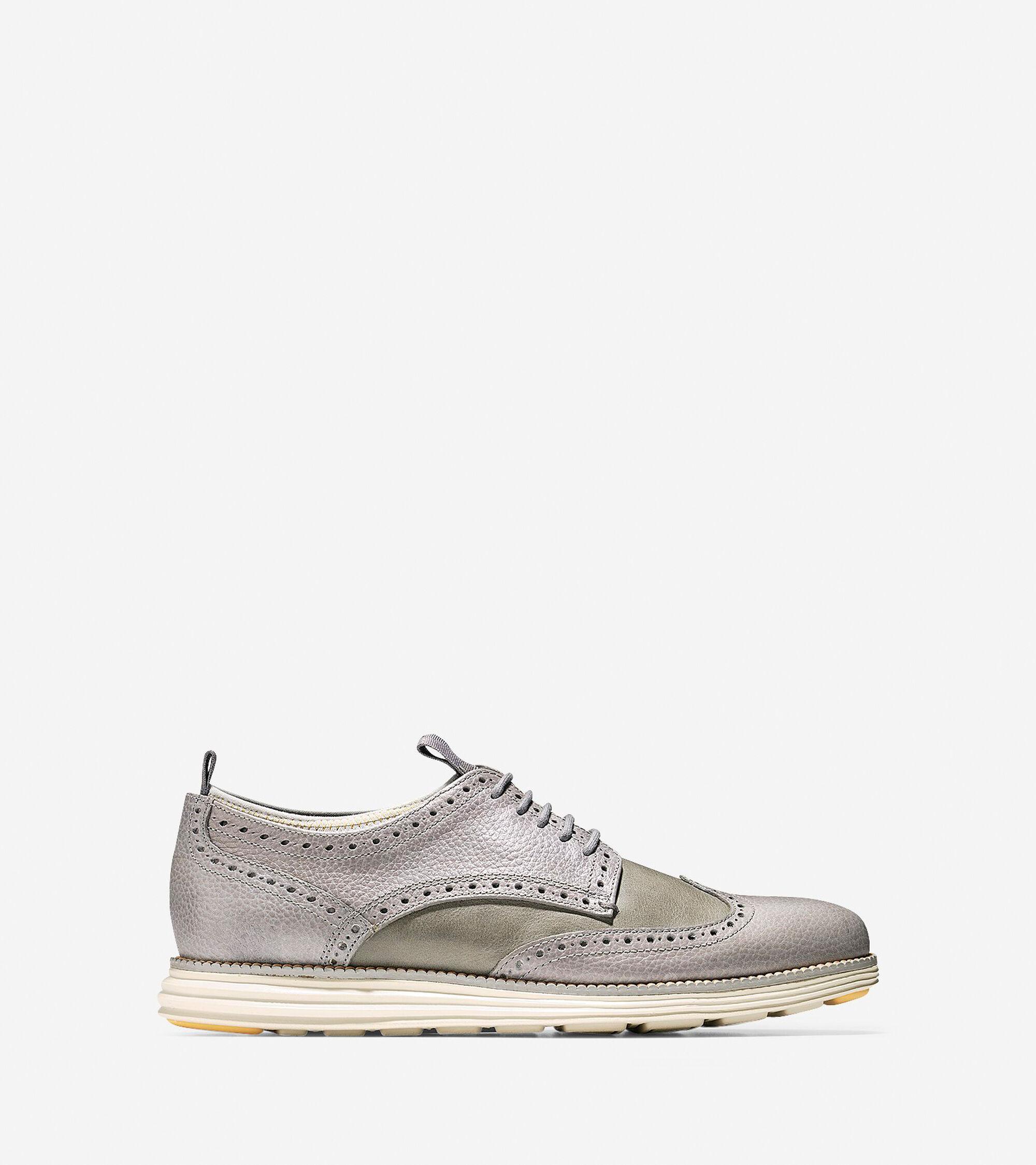 Shoes > ØriginalGrand Neoprene Lined Wingtip Oxford