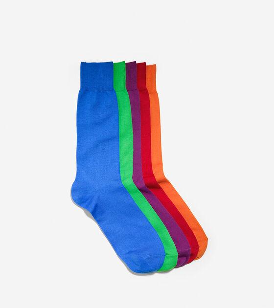 Socks > ZERØGRAND Crew 5pk