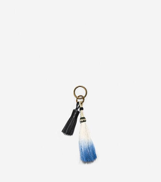 Accessories > Morgan Parish - Horsehair & Leather Keychain