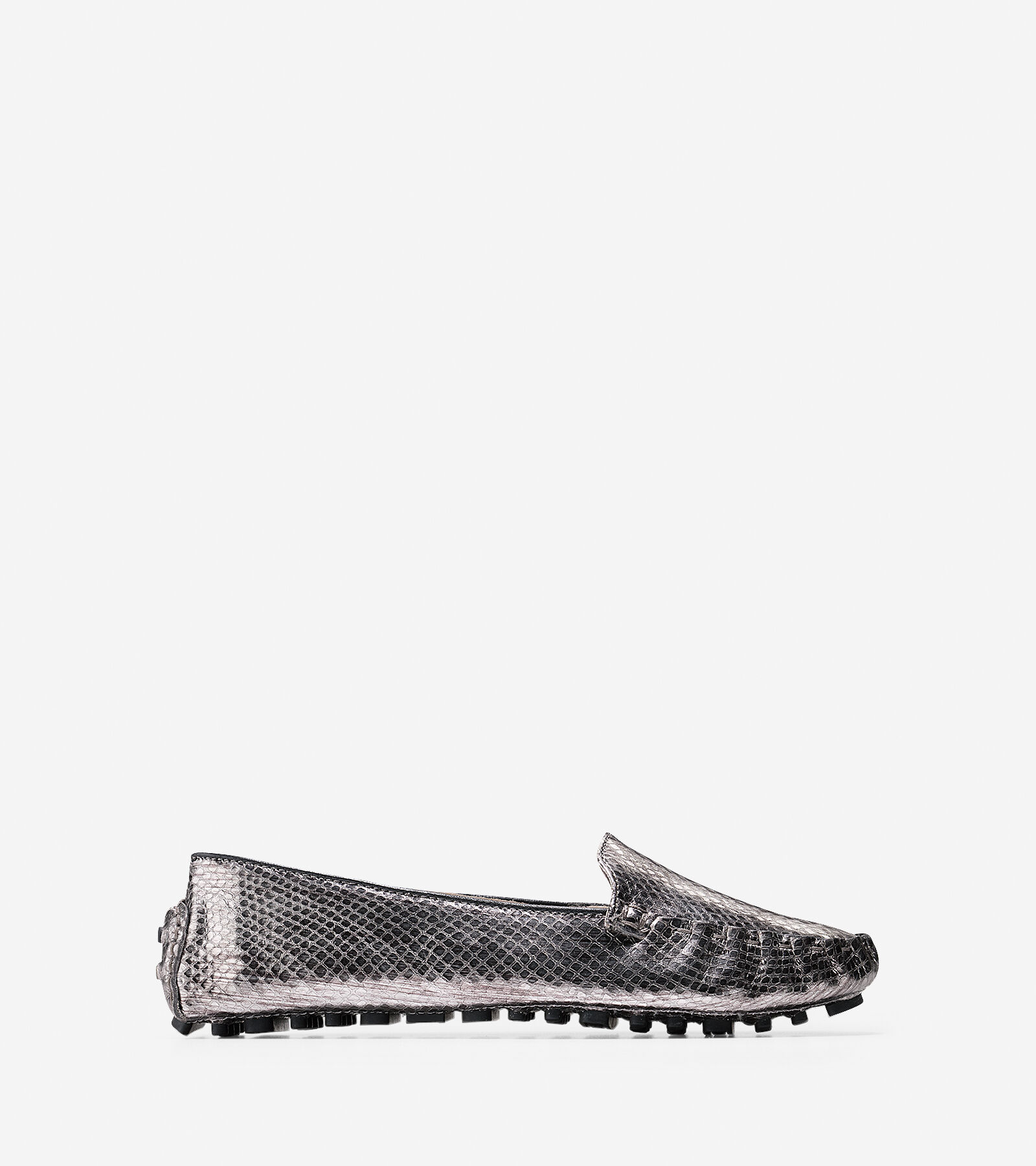 Womens Shoes Cole Haan Cary Venetian Dark Silver Snake Print