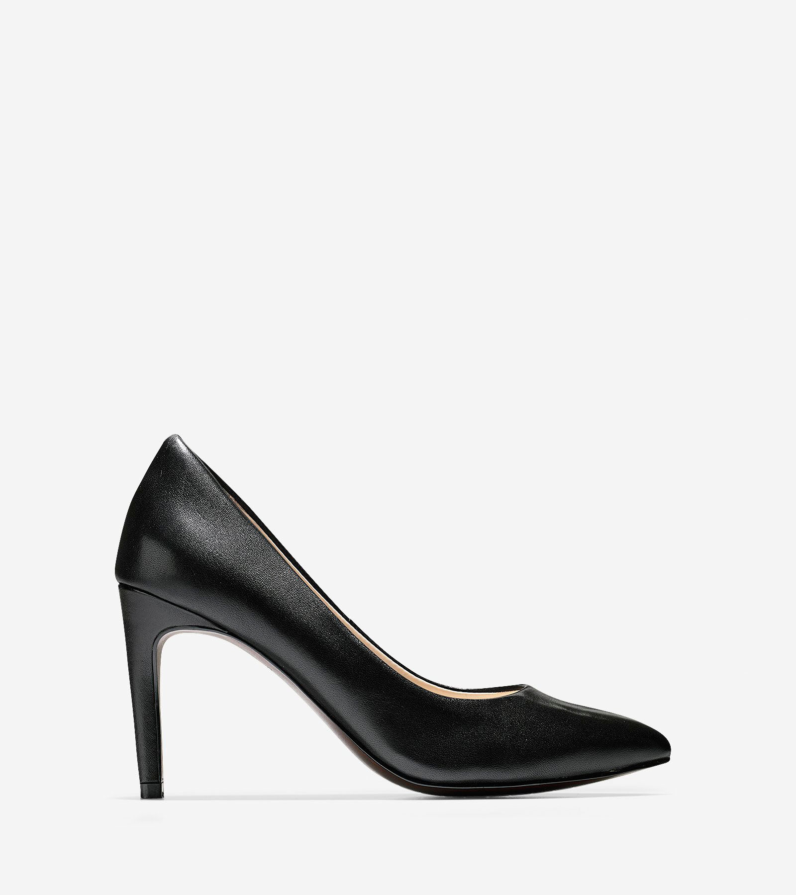 Pumps & High Heels for Women On Sale, Black, Leather, 2017, 7.5 Anna F.