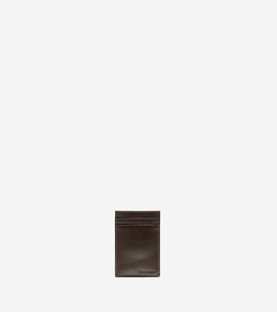 Wallets > Whitman Card Case With Money Clip