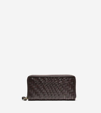 Genevieve Weave Large Continental Wallet