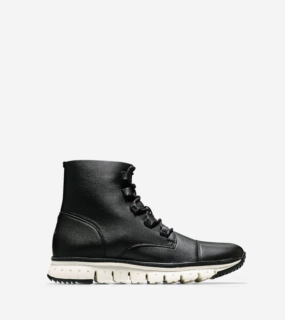 Shoes > Men's ZERØGRAND Cap Toe Boot