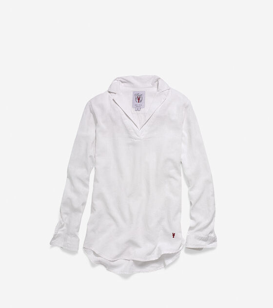 Apparel > Women's Pinch Long Sleeve Woven Popover Shirt