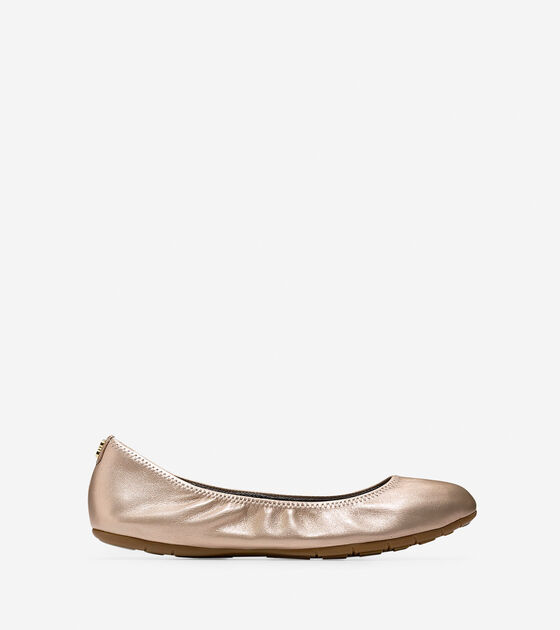 Ballet Flats & Wedges > ZERØGRAND Stagedoor Stud Ballet